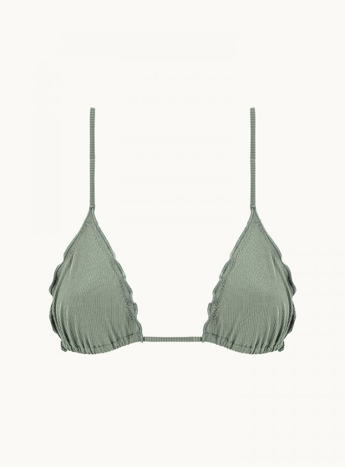 Melting bra - sage green